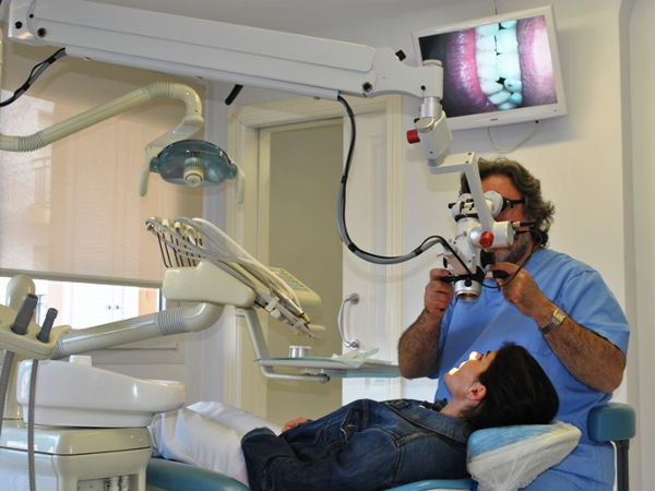 Image digital dental diagnostic in Moraira Dental Clinic